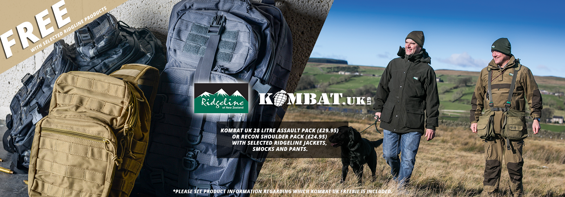 Ridgeline & Kombat UK