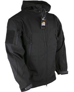 Kombat UK Patriot Tactical Black Soft Shell Jacket - Size Large