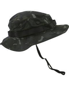 Kombat UK Boonie Hat - US Style Jungle Hat - BTP Black - Medium