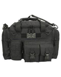 Kombat UK Saxon 35 Litre Holdall - Black - Optics Warehouse