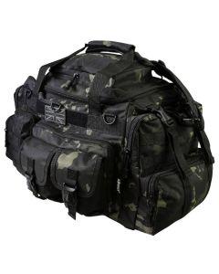 Kombat UK Saxon 50 Litre Holdall - MT Black - Optics Warehouse
