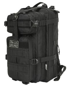 Kombat UK 25 Litre Stealth Pack Backpack - MT Black - Optics Warehouse
