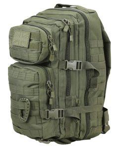 Kombat UK Small Molle 28 Litre Assault Pack - Olive Green