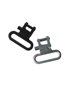 """Talon Q/R swivels 1"""" STAINLESS or BLACK, Stainless"""