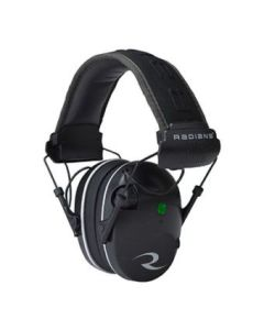Radians R3200 Dual Mic Ear Muffs - NRR23 (Black)
