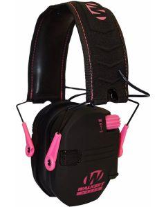 Walker's Pink Razor Slim Shooter Electronic Ear Muffs Optics Warehouse