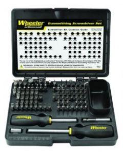 Wheeler Professional Gunsmithing Screwdriver Set 89pk