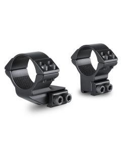 Hawke 30mm 2 Piece 1 inch 9-11mm High Reach Forward Scope Rings