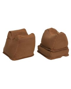 The Outdoor Connection Brown Canvas & NU BUC 3 Piece Bench Rest Bag Trio (Unfilled)