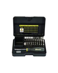 Wheeler 43pc Professional Gunsmithing Screwdriver Set