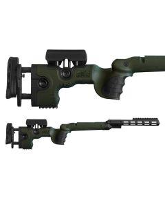 GRS Adjustable Stock, Warg R8 Professional Green Optics Warehouse