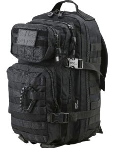Kombat UK Small Molle 28 Litre Assault Pack - Black