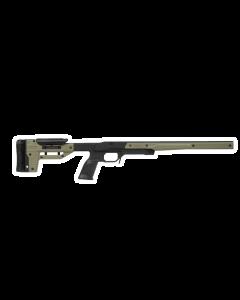 MDT ORYX Tikka T3 LA Right Hand Black/OD Green Rifle Stock