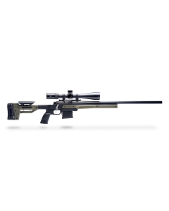 MDT Oryx Savage 110 Right Hand AICS Rifle Stock - Black/OD Green - Optics Warehouse